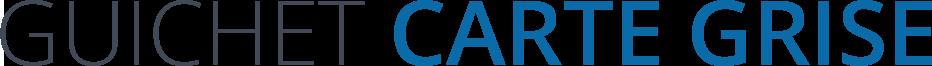 Guichet Carte Grise Logo