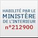 Habilitation carte grise par le Ministère de l'Intérieur